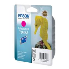 Оригинальный картридж Epson T0483 (C13T04834010) Magenta