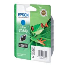 Оригинальный картридж Epson T0549 (C13T05494010) Cyan
