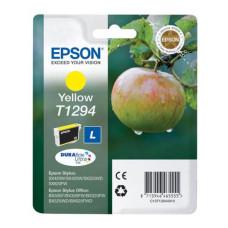 Оригинальный картридж Epson T1294 (C13T12944010/C13T12944011) Yellow