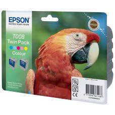 Оригинальный набор картриджей Epson T008_TwinPack (C13T00840310)