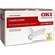Оригинальный фотобарабан OKI 43381705 Yellow