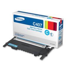 Оригинальный картридж Samsung CLT-C407S Cyan