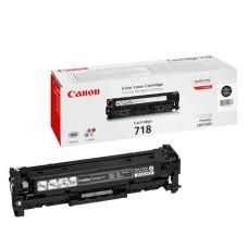 Оригинальный картридж Canon 718Bk (2662B002) black