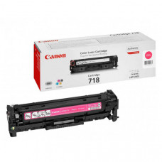 Оригинальный картридж Canon 718M (2660B002) Magenta