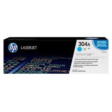 Оригинальный картридж HP 304A (CC531A) Cyan