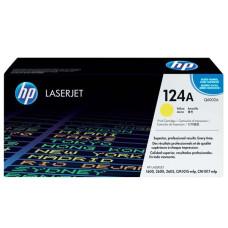 Оригинальный картридж HP 124A (Q6002A) Yellow