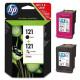 Оригинальный картридж HP 121 CN637HE Black/Tri-color Combo Pack