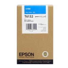 Оригинальный картридж Epson T6132 Cyan