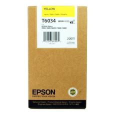 Оригинальный картридж Epson T6134 Yellow