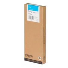 Оригинальный картридж Epson T6142 Cyan