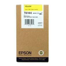 Оригинальный картридж Epson T6144 Yellow