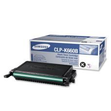 Оригинальный картридж Samsung CLP-K660B black