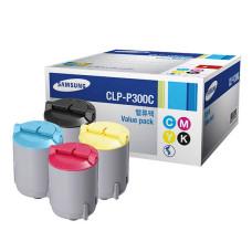 Оригинальный картридж Samsung CLP-P300C набор