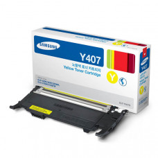 Оригинальный картридж Samsung CLT-Y407S Yellow