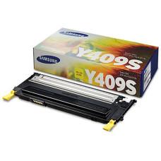 Оригинальный картридж Samsung CLT-Y409S yellow