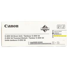 Оригинальный фотобарабан Canon C-EXV-34 (3789B003AA) Yellow