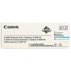Оригинальный фотобарабан Canon C-EXV-34 (3787B003AA) Cyan