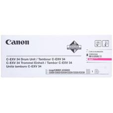Оригинальный фотобарабан Canon C-EXV-34 (3788B003AA) Magenta