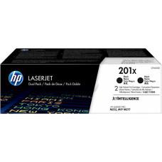 Оригінальний картридж HP CF400XD (201X) black Dual Pack