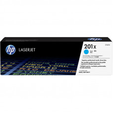 Оригинальный картридж HP 201X (CF401X) Cyan