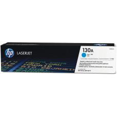 Оригинальный картридж HP 130A (CF351A) Cyan