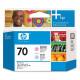 Печатающая головка HP 70 Light Cyan and Light Magenta C9405A
