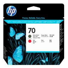 Печатающая головка HP 70 Matte Black and Red C9409A