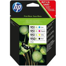 Оригинальный набор картриджей HP 950XL/951XL (C2P43AE)